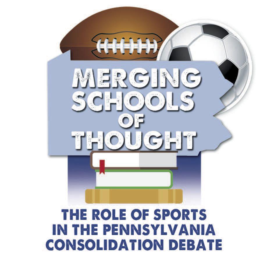 Merging schools sports logo