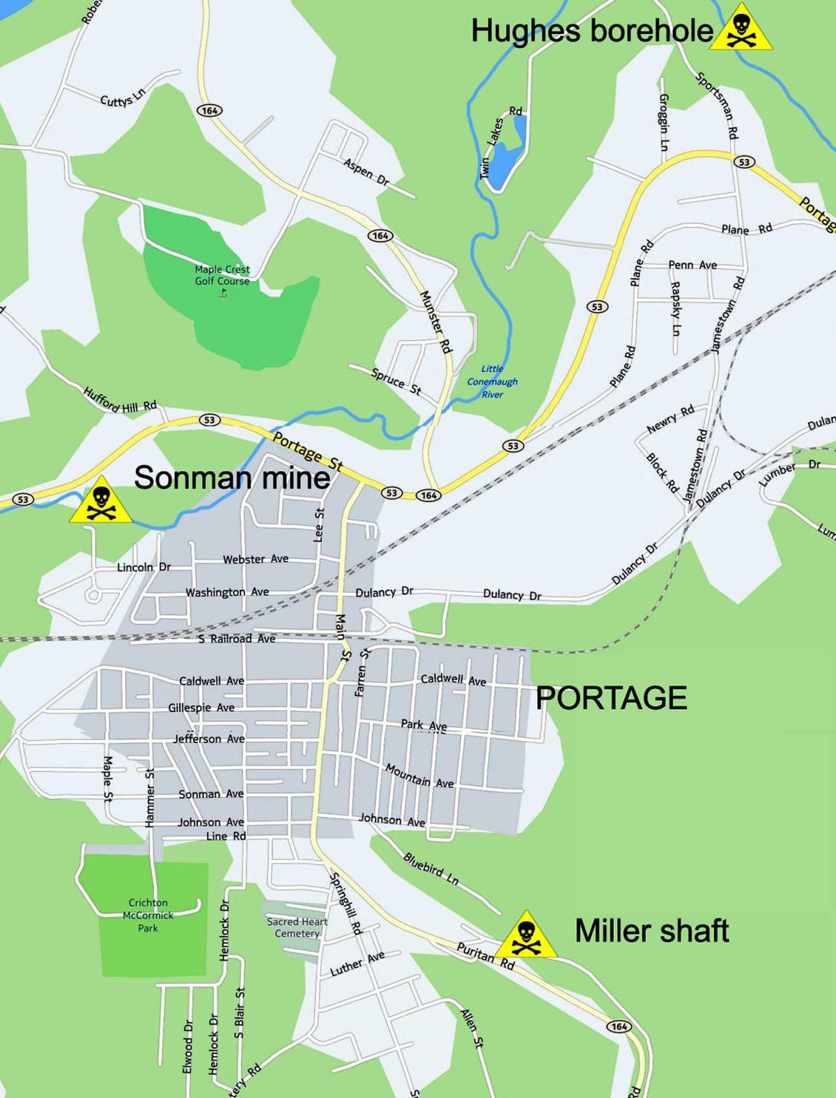 Portage Map