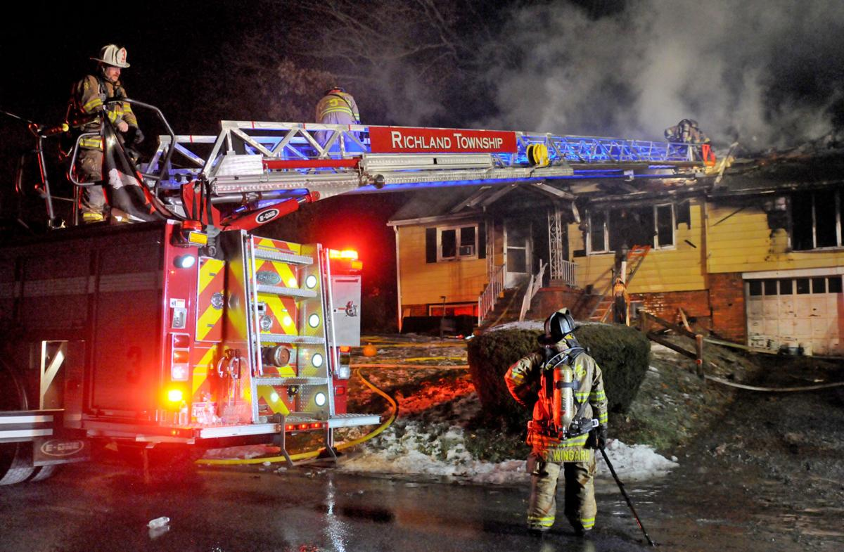 Richland home may be total loss after Thanksgiving blaze