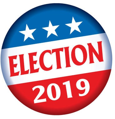 election 2019 button