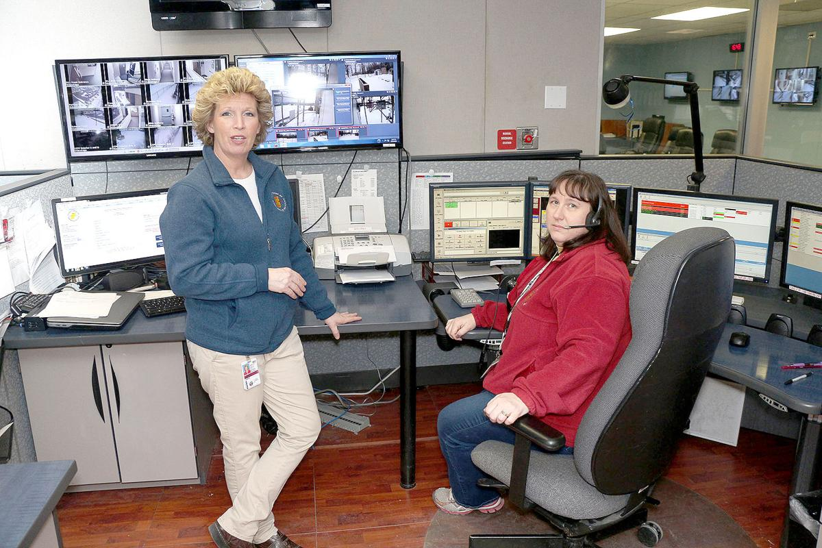 Cambria gives new job titles to emergency department directors director robbin melnyk and supervisor joan villa staff one of the dispatch hubs at cambria county 911 dispatch center in february 2015 thecheapjerseys Image collections