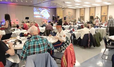 Veterans breakfast at Greater Johnstown Middle School