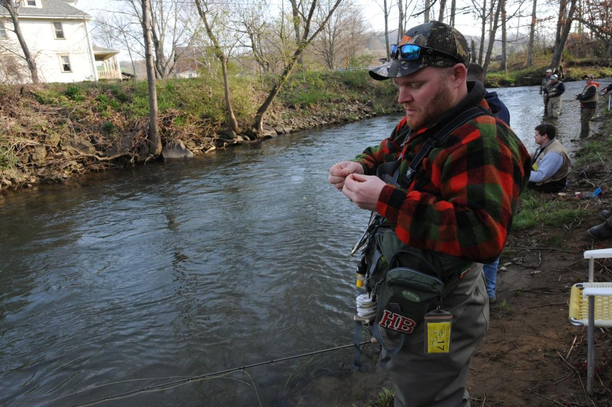 Trout fishing on opening day multimedia for Pa fish for free days 2017