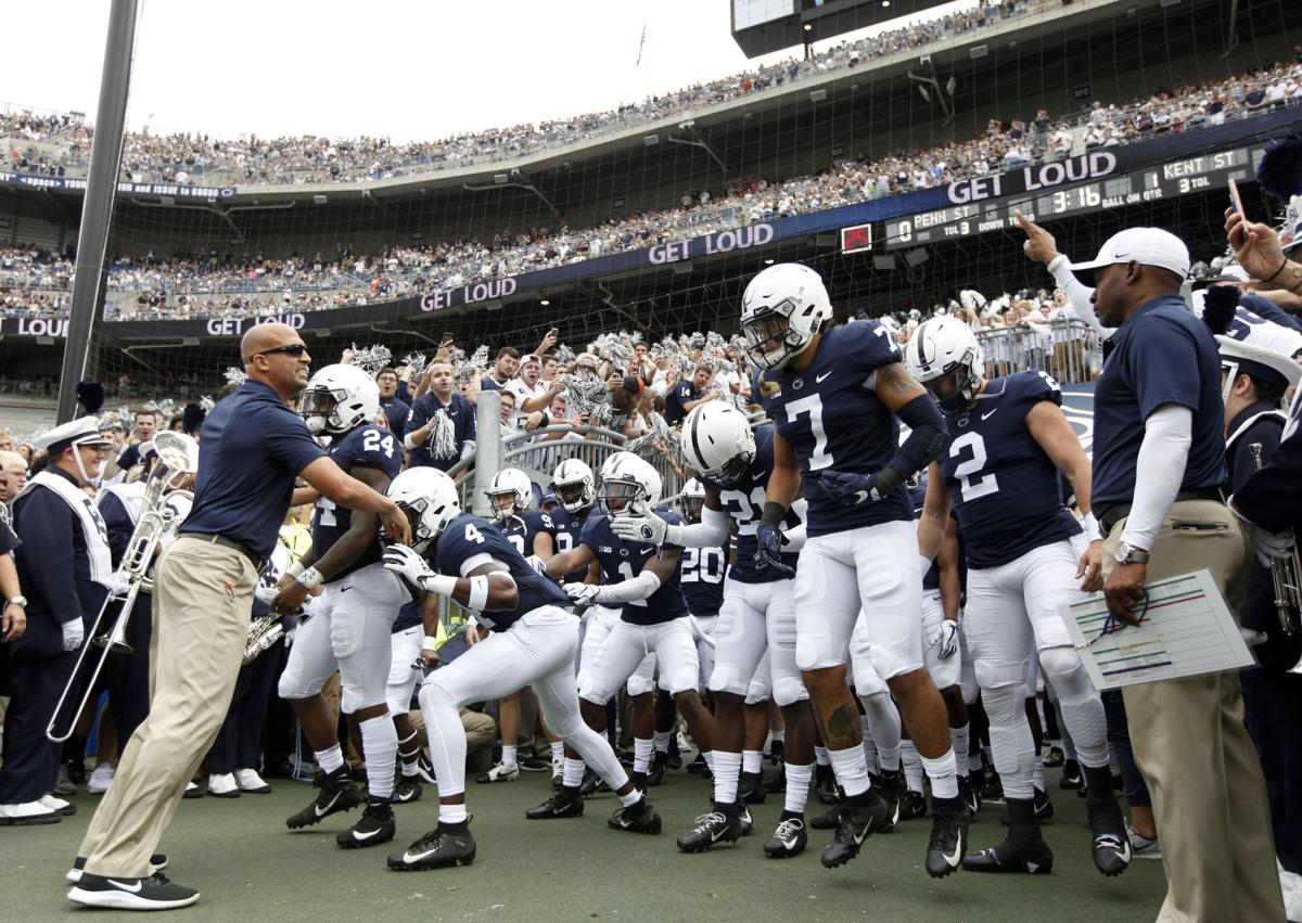 Penn State Line Building Football