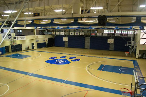 Pitt johnstown sports center to get new wooden floor this for Floor 2 pittsburgh