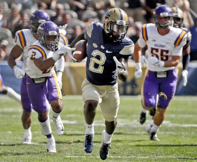 Pitt Football Panthers Thunder To 33 7 Win Over Albany In Opener