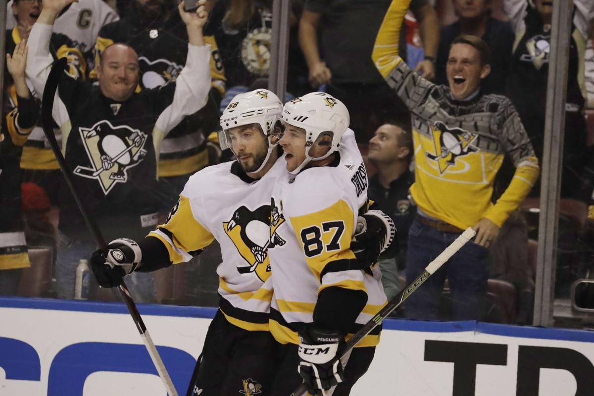 Penguins Panthers Hockey