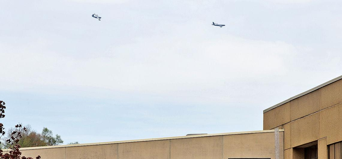 Operation American Resolve flyover