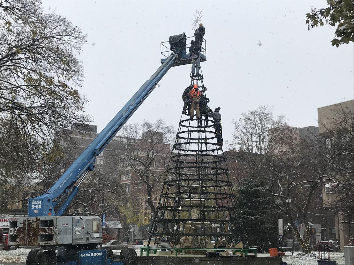Christmas Tree @ Central Park