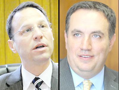 Josh Shapiro and Frank Burns