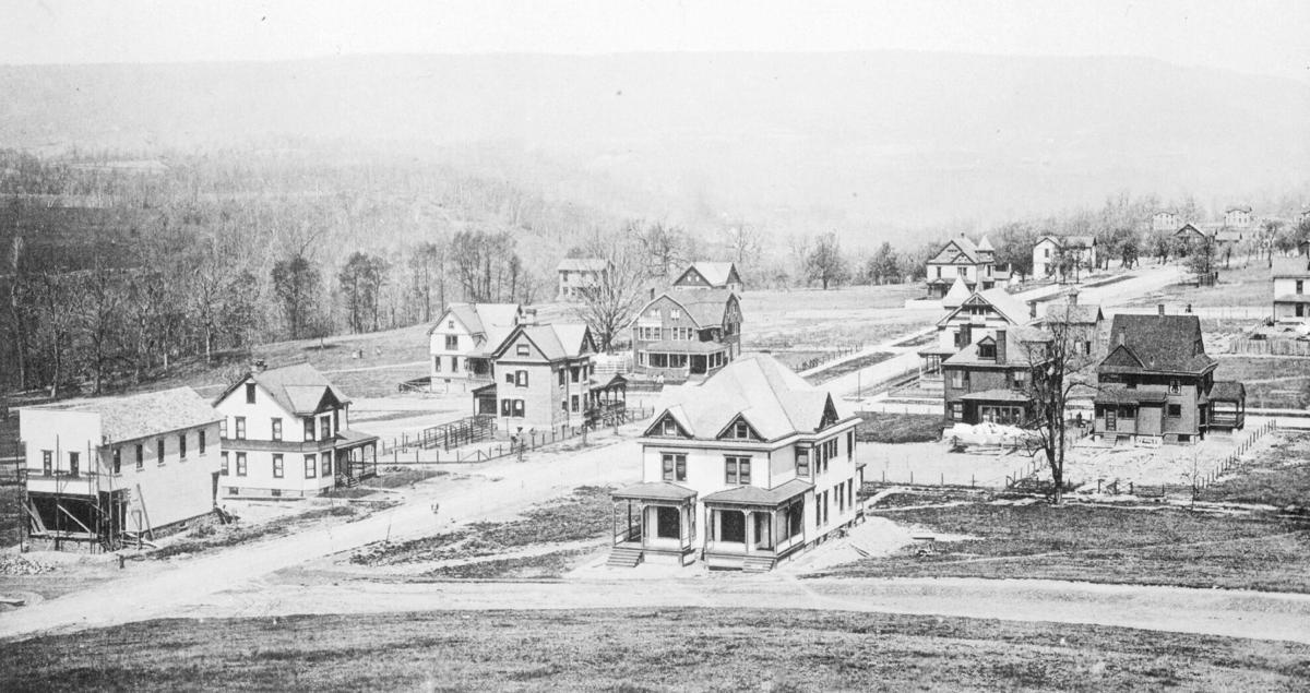 Tioga Street market circa 1890s