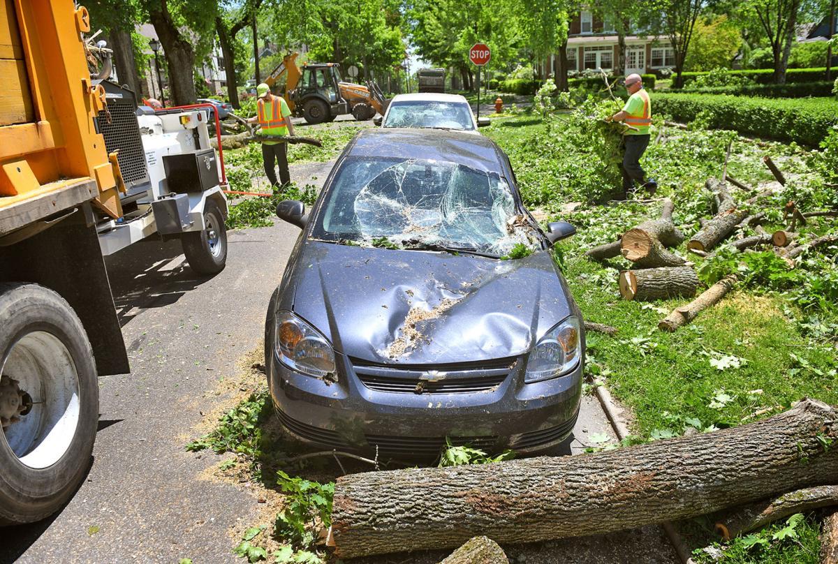 Storm Damage   Westmont   Emory Avenue