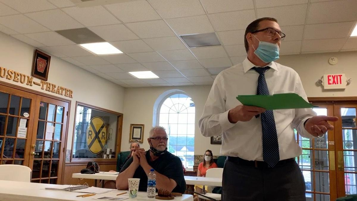 Gallitzin Borough meeting