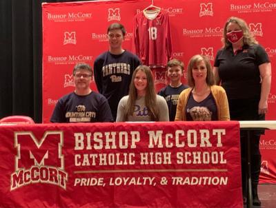 Ally Diamond, Bishop McCort Catholic High School