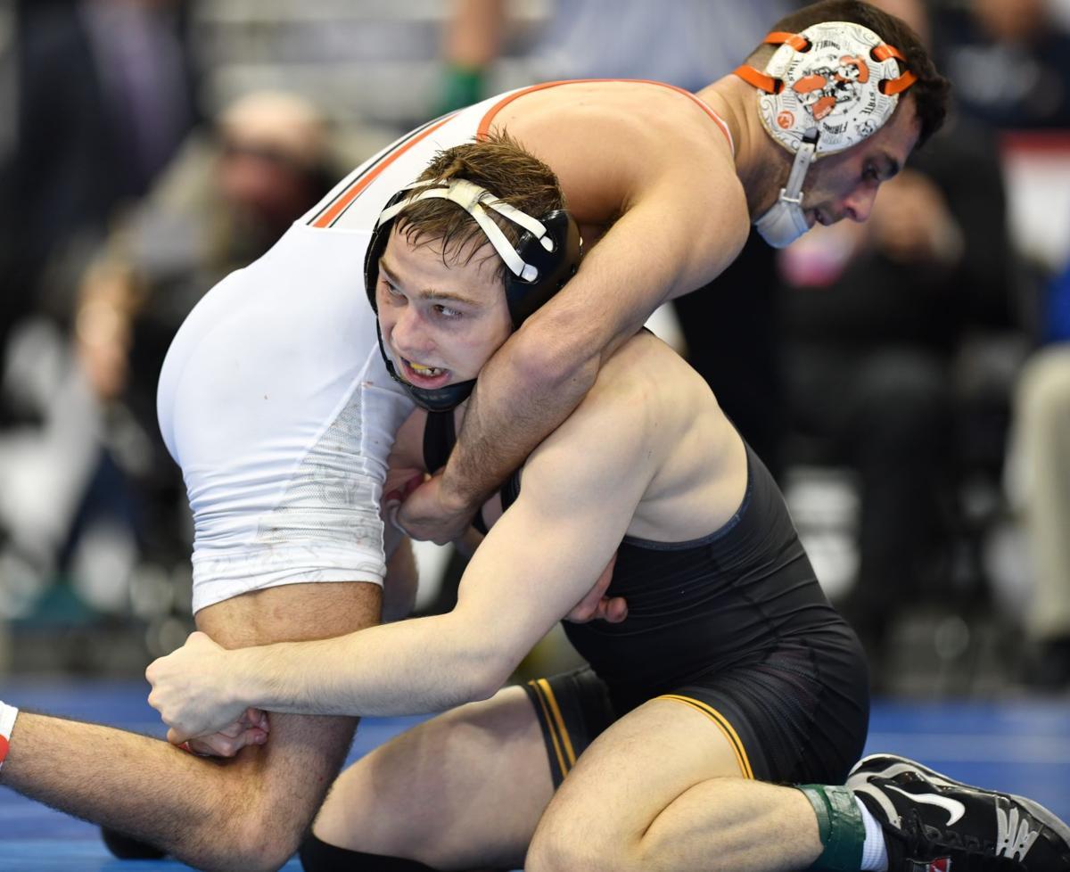 NCAA Wrestling Lee vs. Piccininni