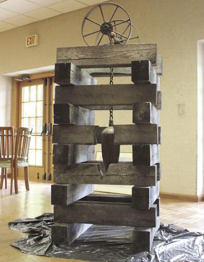 """Sojourners, Allies & Builders"" sculpture"