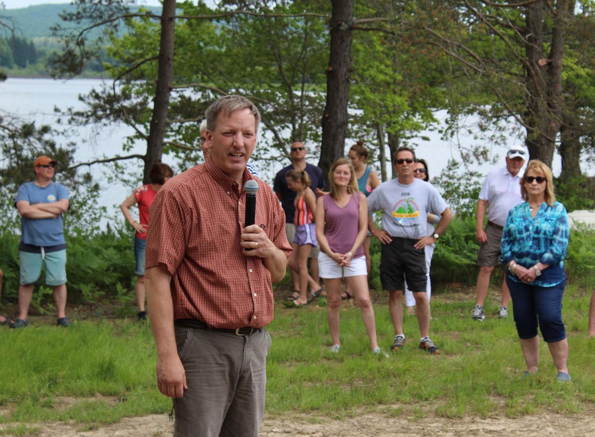 Adams at Deer lake