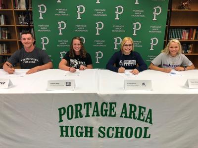 Portage Area High School signing