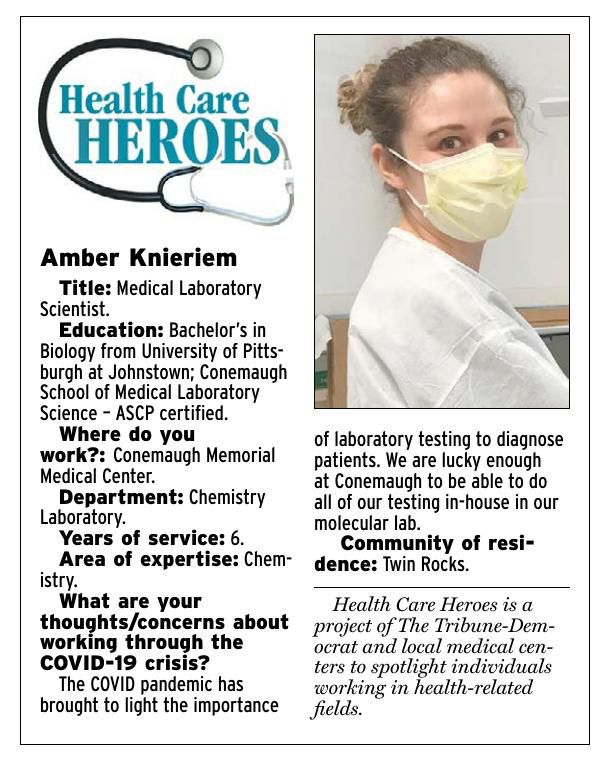 Health Care Heroes | Amber Knieriem