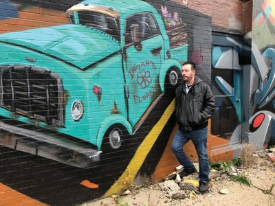 Johnstown artist Terence Kauffman