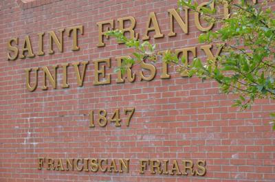 St. Francis University sign