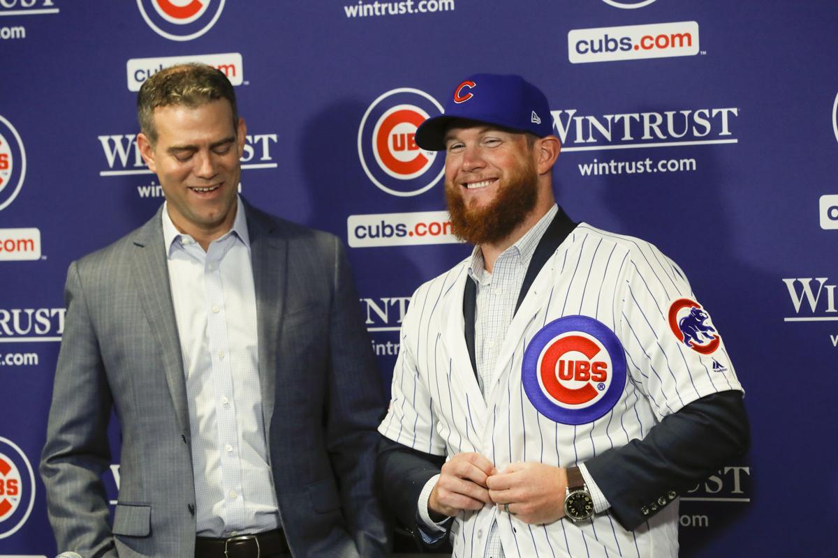 Cubs-Kimbrel Baseball