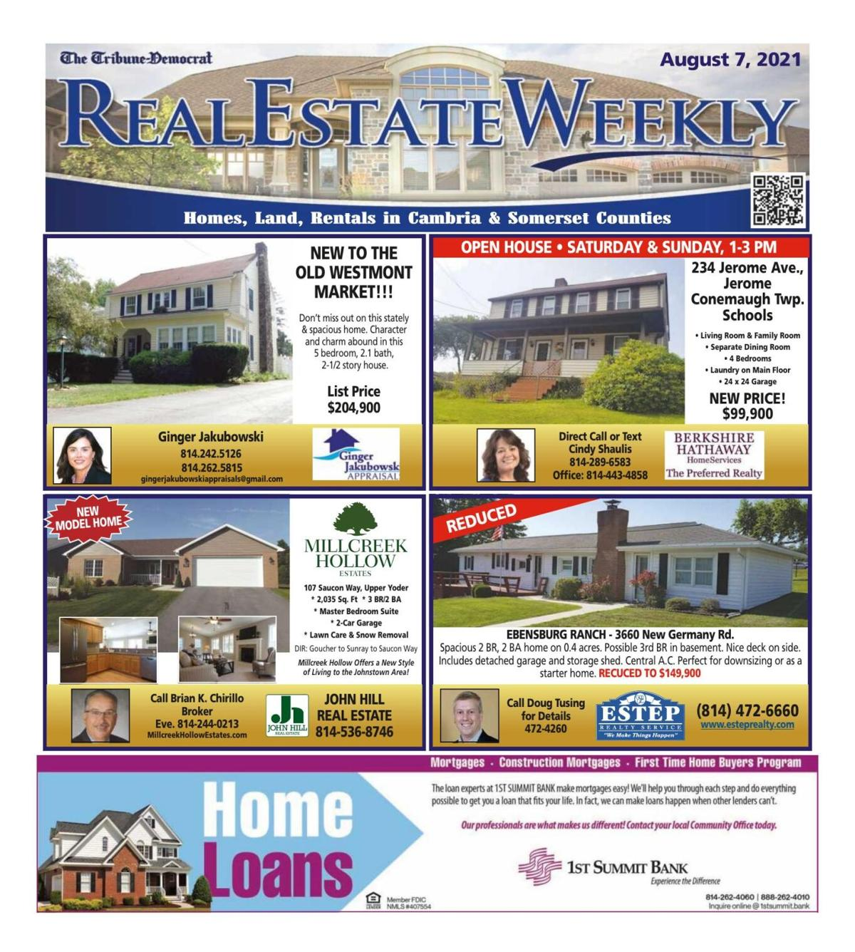 Real Estate Weekly August 6th, 2021