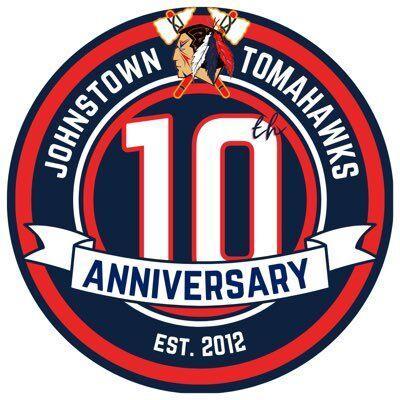 Tomahawks 10th anniversary logo