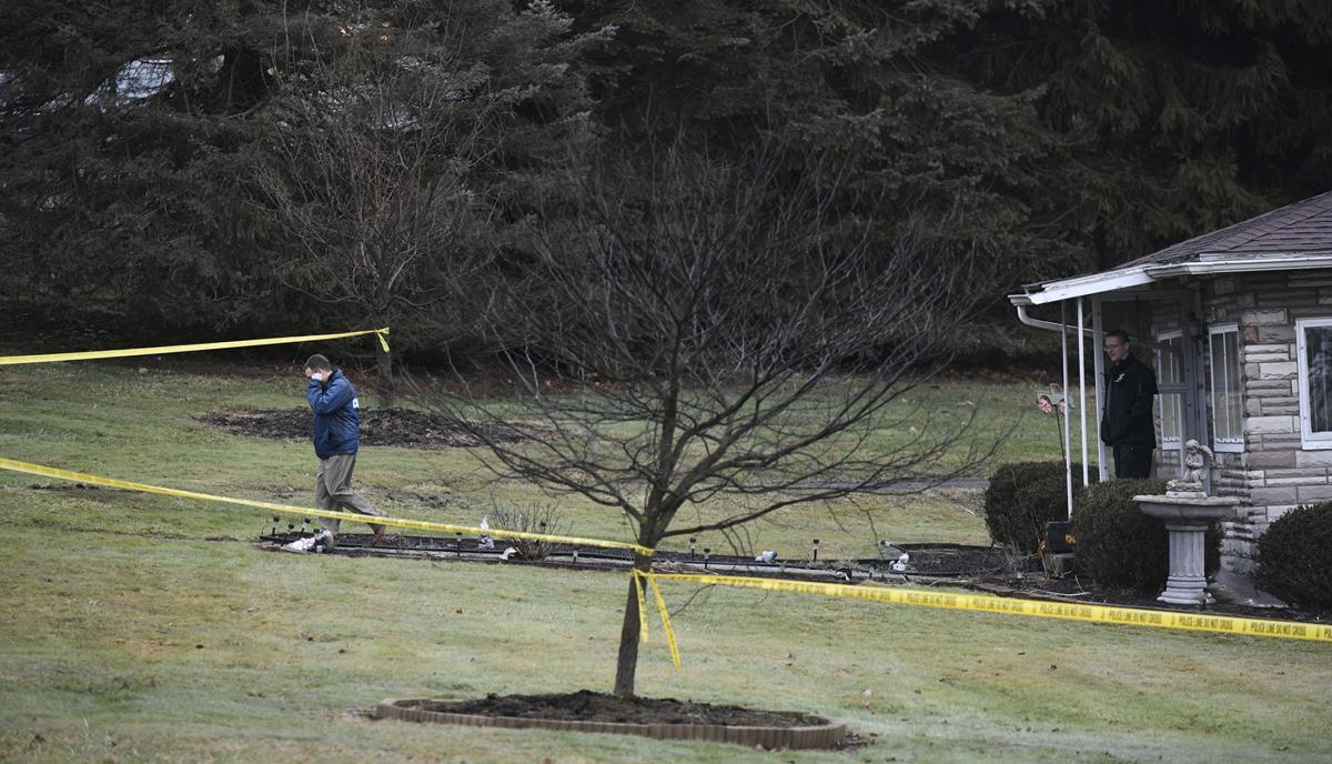 Murder-suicide scene