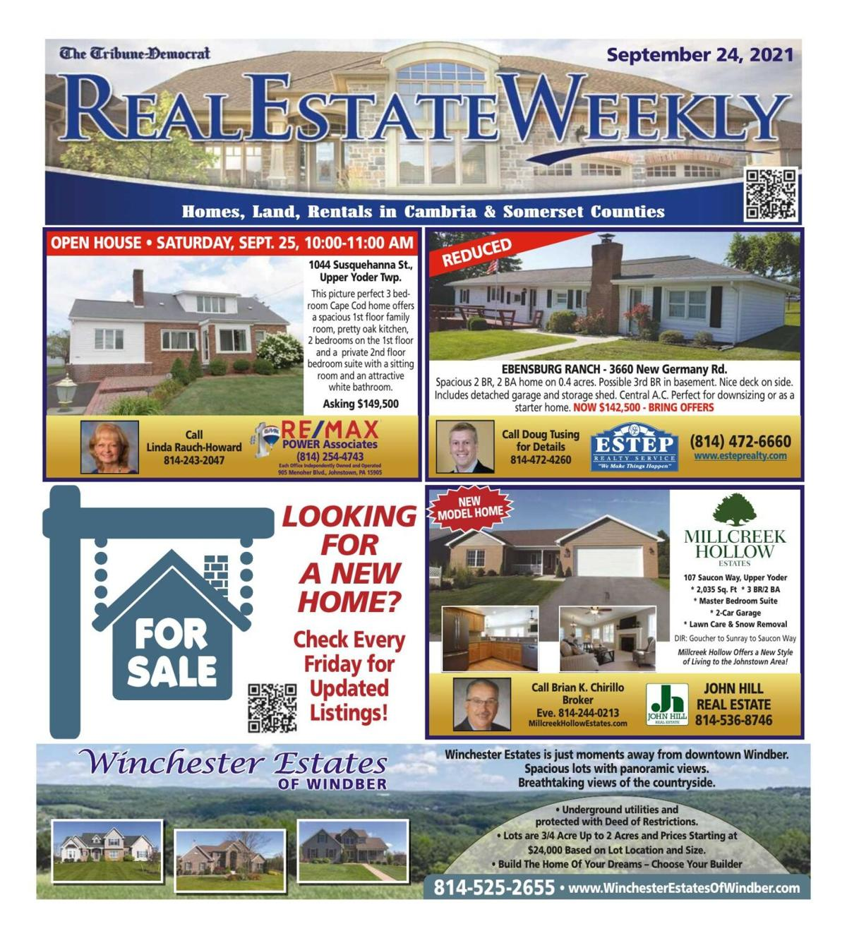 Real Estate Weekly September 24th, 2021