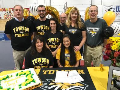 Amy Stewart – Towson University signing – Nov. 16, 2018