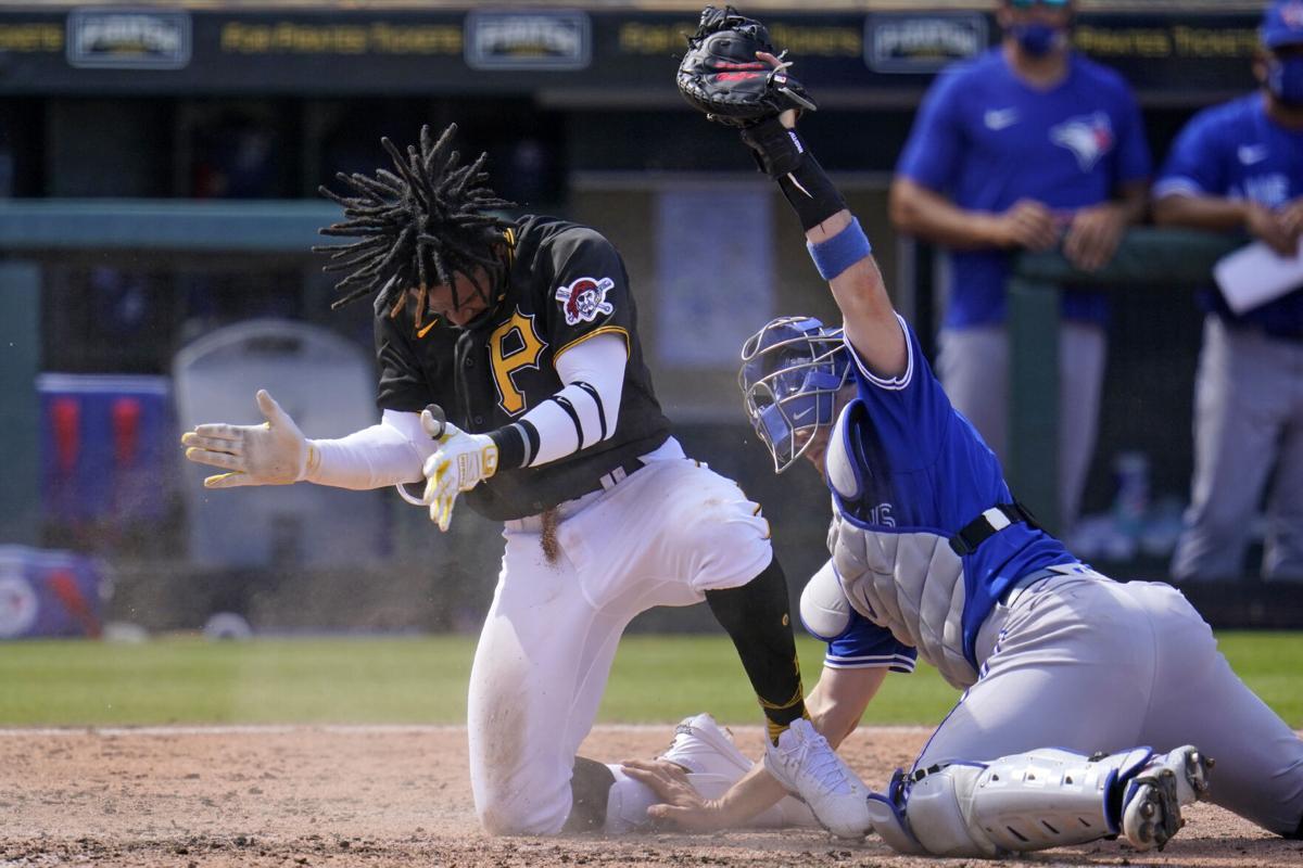 APTOPIX Blue Jays Pirates Spring Baseball