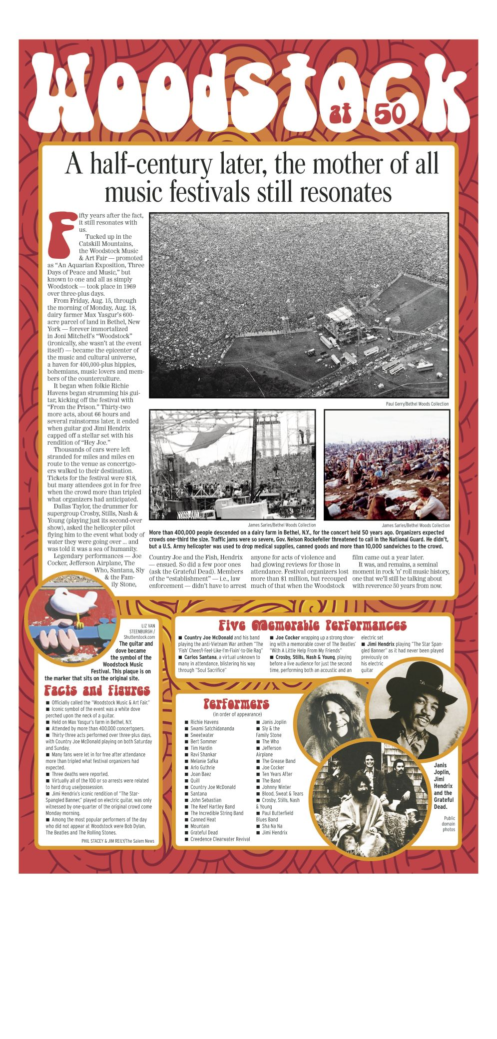Woodstock at 50