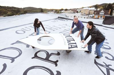 Ouija on the roof