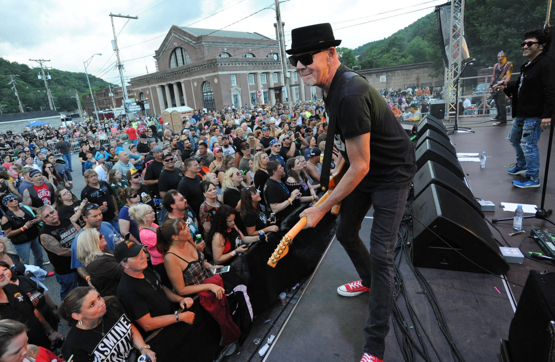 ... And His Band Great White Perform On The Train Station Stage During The  21st Annual Thunder In The Valley Motorcycle Rally In Johnstown, PA.,  Saturday, ...