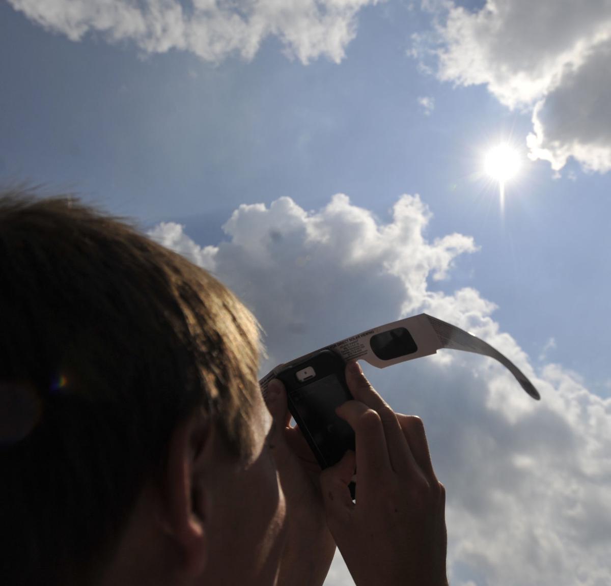 St. Francis solar eclipse 1