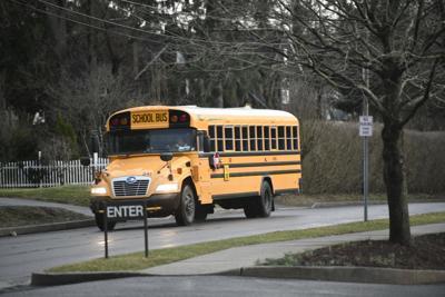 School bus Westmont