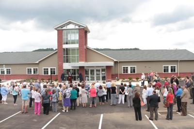 Meyersdale center ribbon cutting