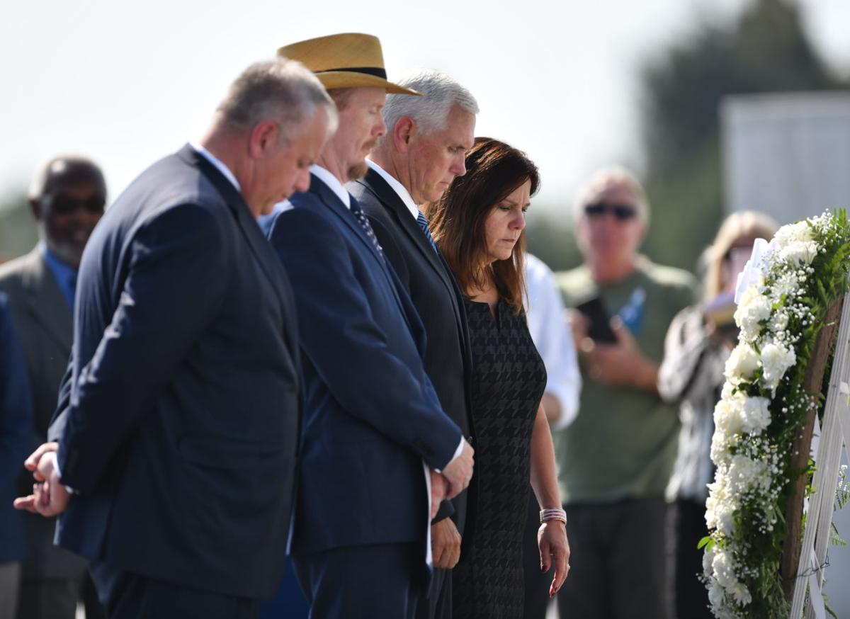 Pence at Flight 93