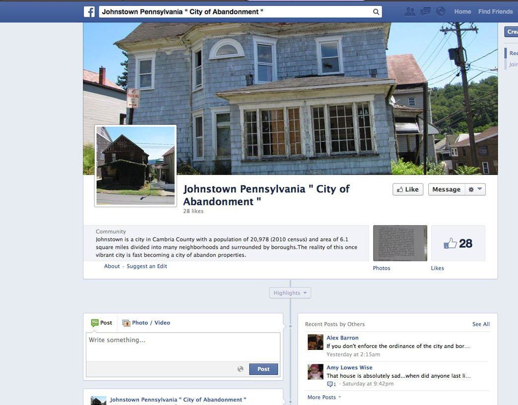 Fighting blight: Facebook page singles out decrepit properties ...