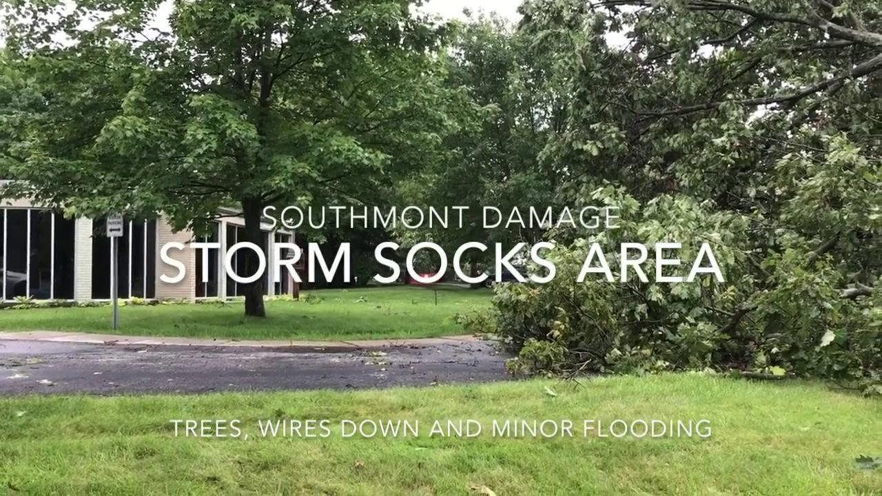Storm brings down trees in West Hills, prompting concerns of tornado ...