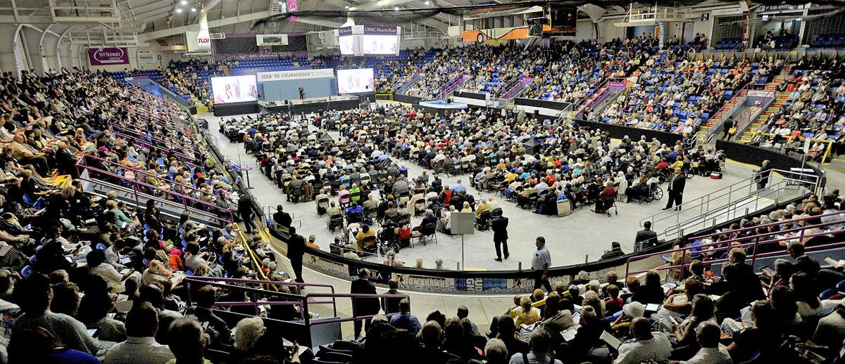 In return to Johnstown, Jehovah's Witnesses convention-goers urged
