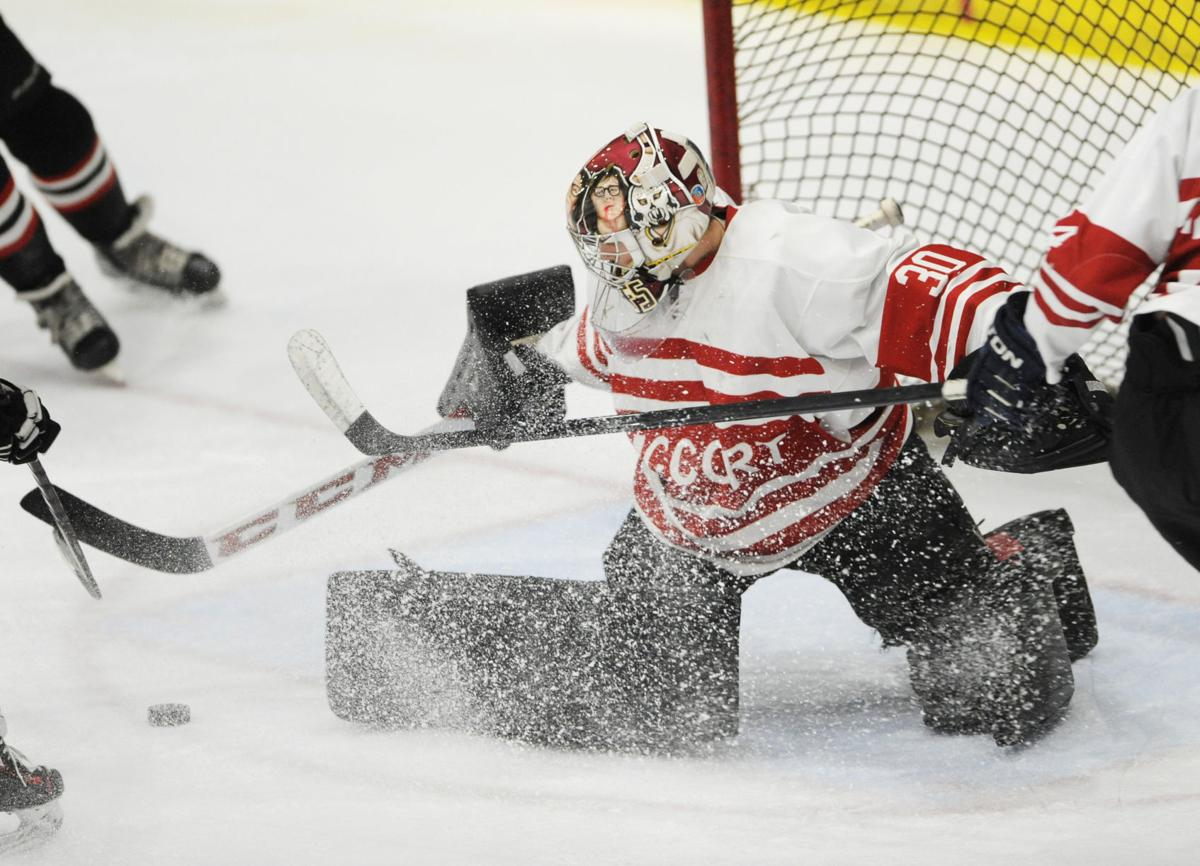 Bishop McCort goaltender Cole Bradley maintains a family tradition ...