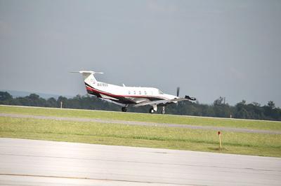 Flight leaves Johnstown airport