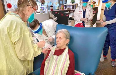 Alice Mickel Arbutus Park Manor vaccination