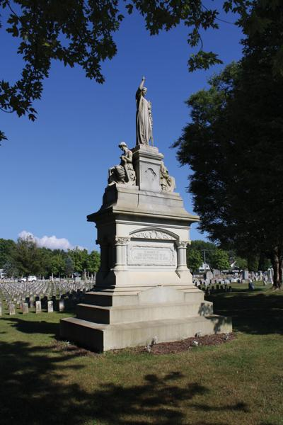 Monument of Tranquility at Grandview Cemetery