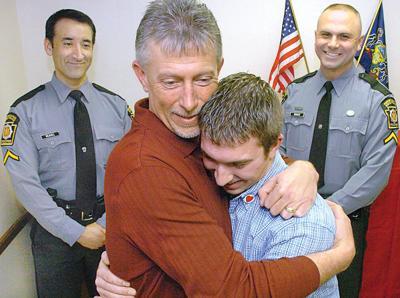Teen recognized for saving father's life | News | tribdem com