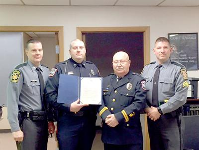 Conemaugh Township officer commended for catching alleged killer