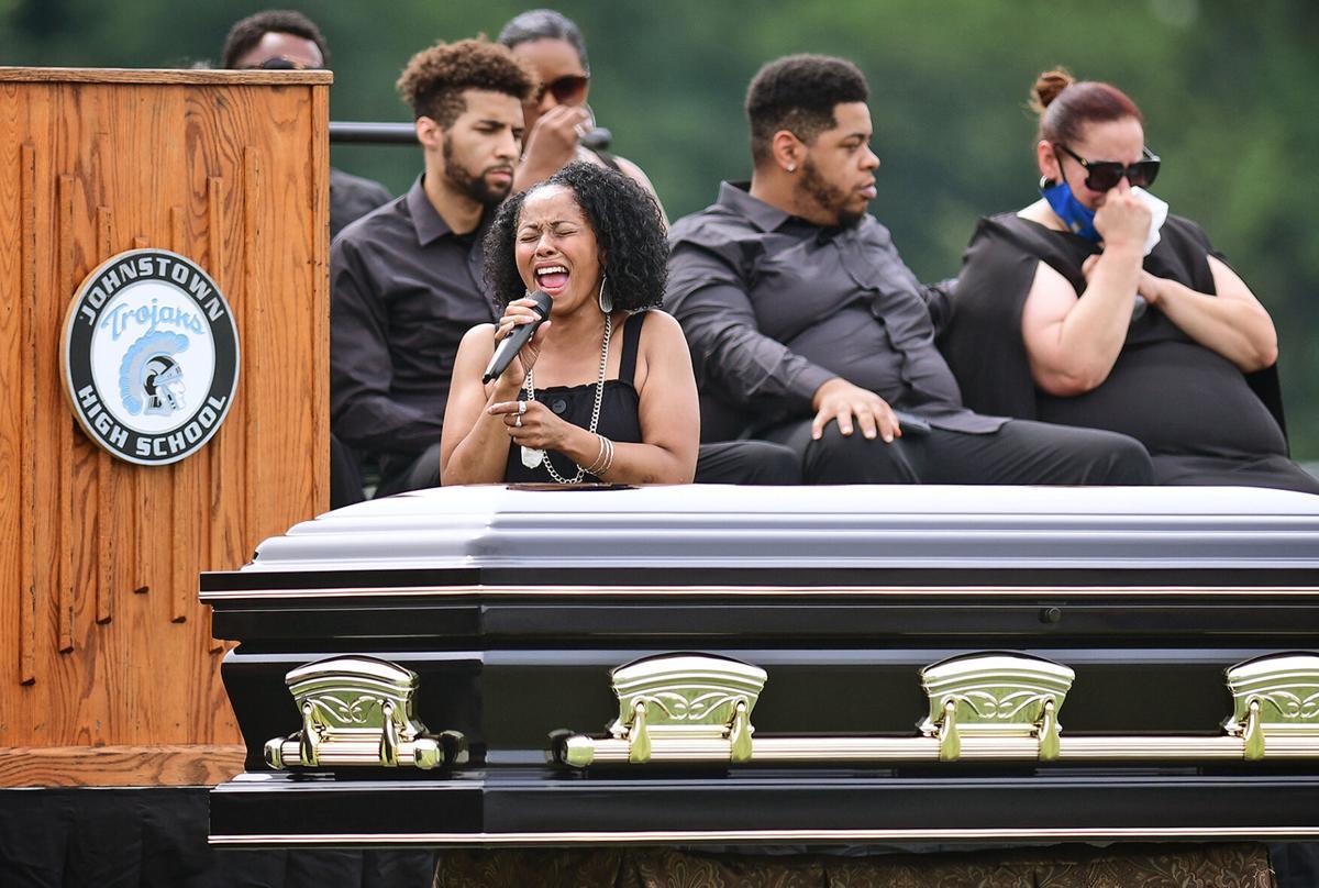 Carlton Haselrig Funeral | Trojan Stadium | Sarina Hardison