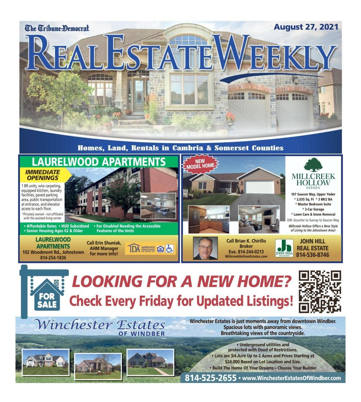 Real Estate Weekly August 27, 2021